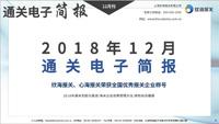 十二月通关电子简报(瀚而普)