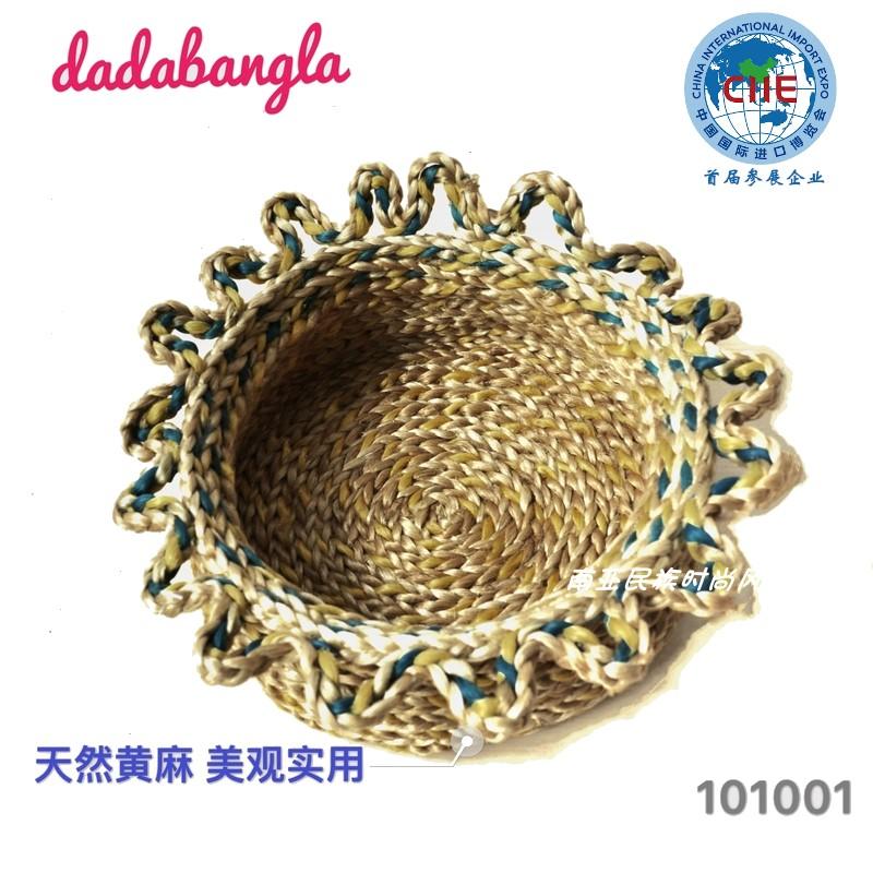 黄麻装饰篮